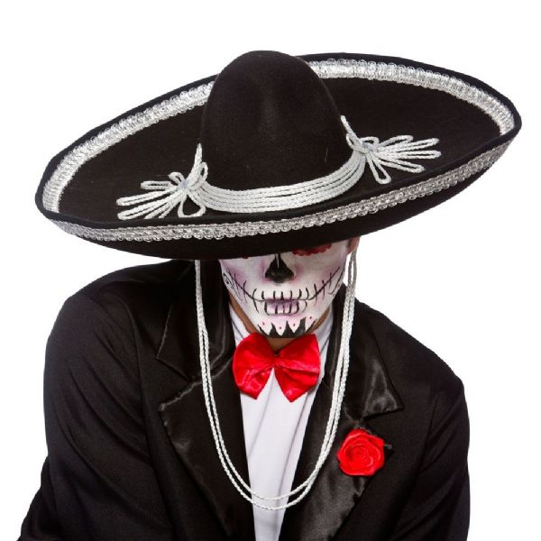 Mexican Sombrero - Black